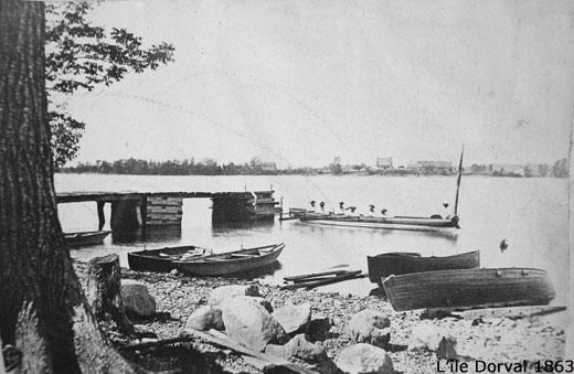 Dorval Island Dock 1863
